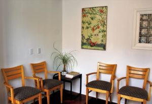 chairs clinic waiting room